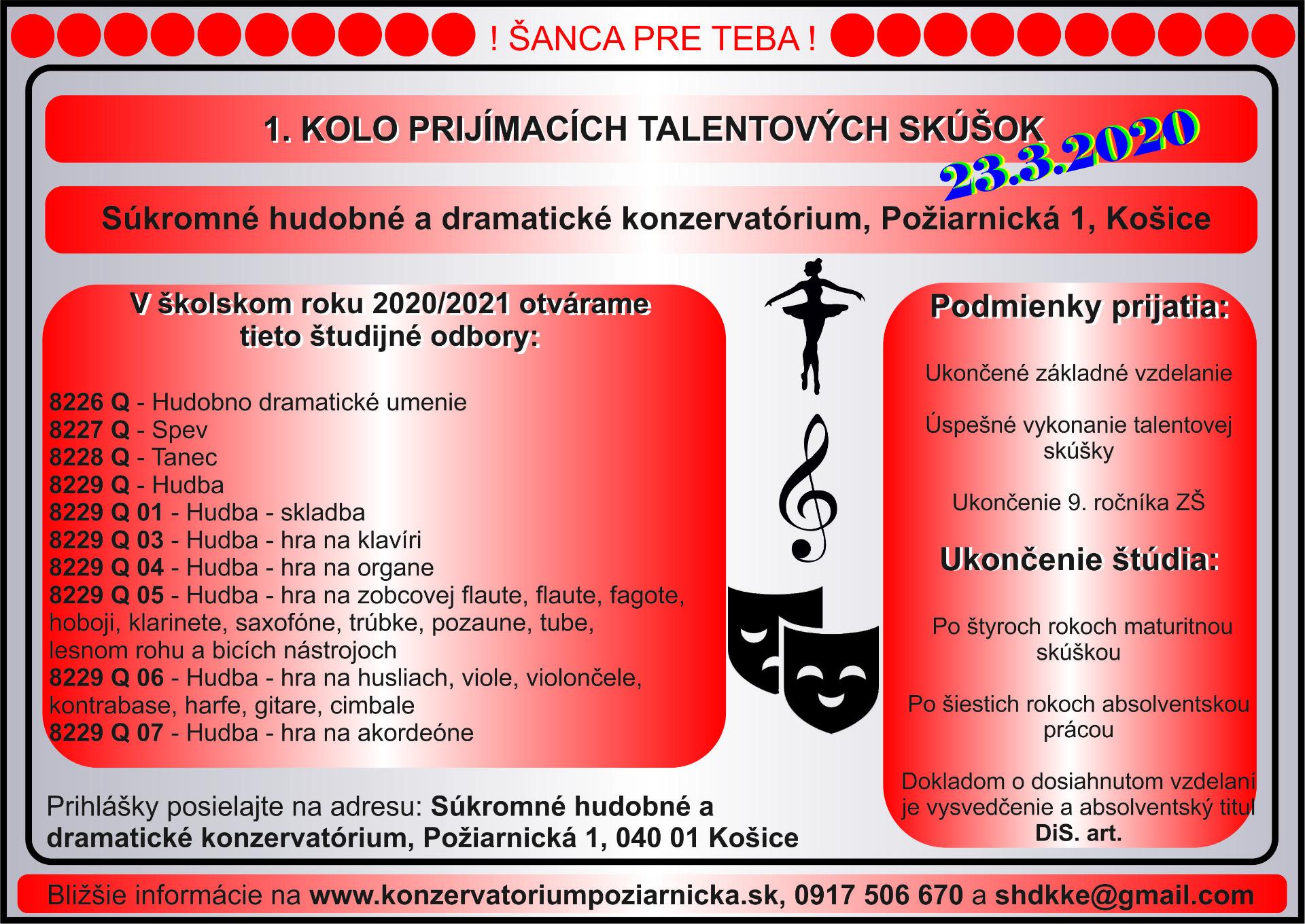 Súkromné hudobné a dramatické konzervatórium - Text 049c32d0b30